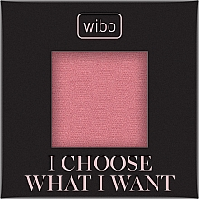 Fragrances, Perfumes, Cosmetics Face Blush - Wibo I Choose What I Want Blusher (refill)