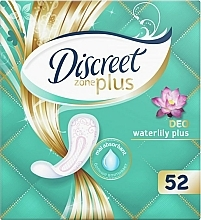 Fragrances, Perfumes, Cosmetics Daily Pantiliners Deo Water Lily Plus, 52pcs - Discreet Zone Plus