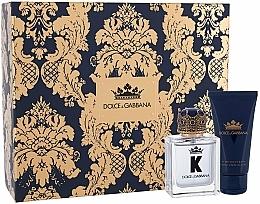 Fragrances, Perfumes, Cosmetics Dolce&Gabbana K by Dolce&Gabbana - Set (edt/50ml + a/sh/balm/50ml)