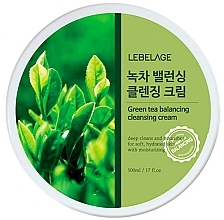 Fragrances, Perfumes, Cosmetics Cleansing Face Cream - Lebelage Green Tea Balancing Cleansing Cream