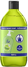 "Fragrances, Perfumes, Cosmetics Liquid Soap ""Hygiene & Freshness. Ginger and Lime"" - Fa Hygiene & Freshness Ginger And Lime Liquid Soap (refill)"