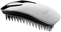 Fragrances, Perfumes, Cosmetics Hair Brush - Ikoo Home Metallic Oyster Black