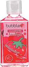 "Fragrances, Perfumes, Cosmetics Antibacterial Hand Gel ""Strawberry"" - Bubble T Cleansing Hand Gel Strawberry"