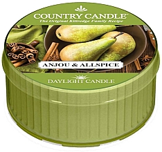 Fragrances, Perfumes, Cosmetics Tea Candle - Country Candle Anjou& Allspice Daylight