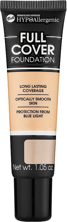 Face Foundation - Bell HypoAllergenic Full Coverage Foundation