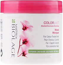 Fragrances, Perfumes, Cosmetics Color-Treated Hair Mask - Biolage Colorlast Mask
