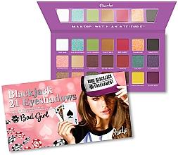 Fragrances, Perfumes, Cosmetics Eyeshadow Palette - Rude Blackjack Eyeshadow Palette