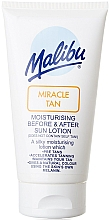 Fragrances, Perfumes, Cosmetics Before and After Tanning Moisturizing Face Lotion - Malibu Miracle Tan Moisturising Before and After Sun Lotion