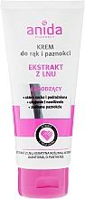 Fragrances, Perfumes, Cosmetics Hand and Nail Cream - Anida Pharmacy Linen Extract Hand Cream