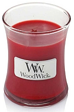 Fragrances, Perfumes, Cosmetics Scented Candle in Glass - WoodWick Hourglass Candle Pomegranate