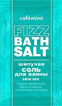 "Fragrances, Perfumes, Cosmetics Fizz Bath Salt ""Skin Spa"" - Cafe Mimi Fizz Bath Salt"