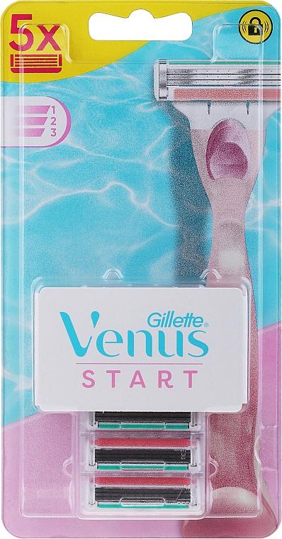 Replaceable Shaving Cassettes - Gillette Venus Start — photo N1