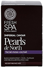 "Fragrances, Perfumes, Cosmetics Facial Meso-Cocktail ""Pearls de North"" - Natura Siberica Fresh Spa Imperial Caviar Pearls De North"