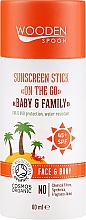 Fragrances, Perfumes, Cosmetics Sunscreen Stick - Wooden Spoon Sunscreen Stick On The Go SPF 45