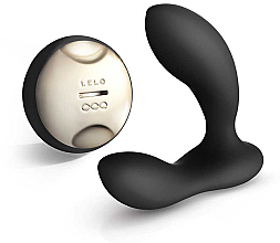 Fragrances, Perfumes, Cosmetics Remote Control Prostate Vibrating Massager, black - Lelo Hugo Black