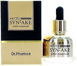 Fragrances, Perfumes, Cosmetics Peptide Gold Serum - Dr. Pharmor McCell Skin Science 365 Syn-ake Gold Ampoule