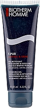 Fragrances, Perfumes, Cosmetics Detoxifying & Exfoliating Cleanser - Biotherm T-Pur Anti-Oil & Shine Exfoliating Facial Cleanser