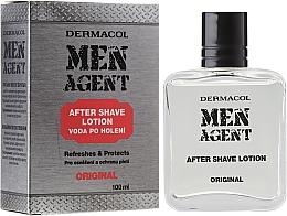 Fragrances, Perfumes, Cosmetics After Shave Lotion - Dermacol Men Agent Original After Shave Lotion