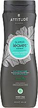 Fragrances, Perfumes, Cosmetics Shampoo-Shower Gel - Attitude Super Leaves Natural Shampoo & Body Wash 2-in-1 Scalp Care