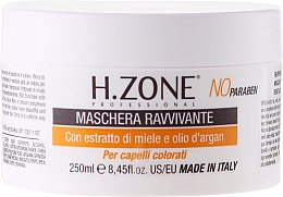 Fragrances, Perfumes, Cosmetics Color-Treated Hair Mask - H.Zone Masque Ravive Boucles