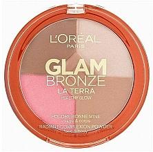 Fragrances, Perfumes, Cosmetics Bronzer - L'Oréal Paris Glam Bronze Healthy Glow