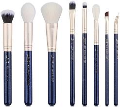 Fragrances, Perfumes, Cosmetics Makeup Brush Set, T484, 8 pcs - Jessup