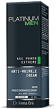 Fragrances, Perfumes, Cosmetics Anti-Wrinkle Cream - Dr Irena Eris Platinum Men Age Power Extreme Anti-wrinkle Cream