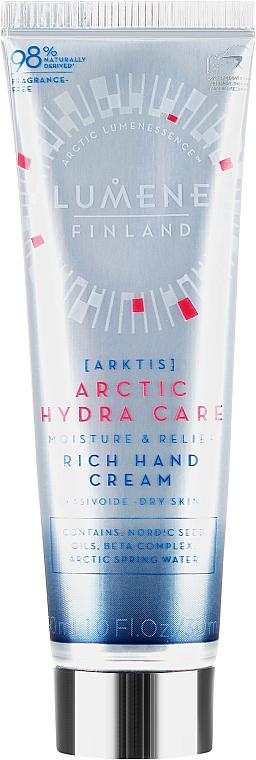 Moisturizing Hand Cream - Lumene Arctic Hydra Care Moisture & Relief Rich Hand Cream