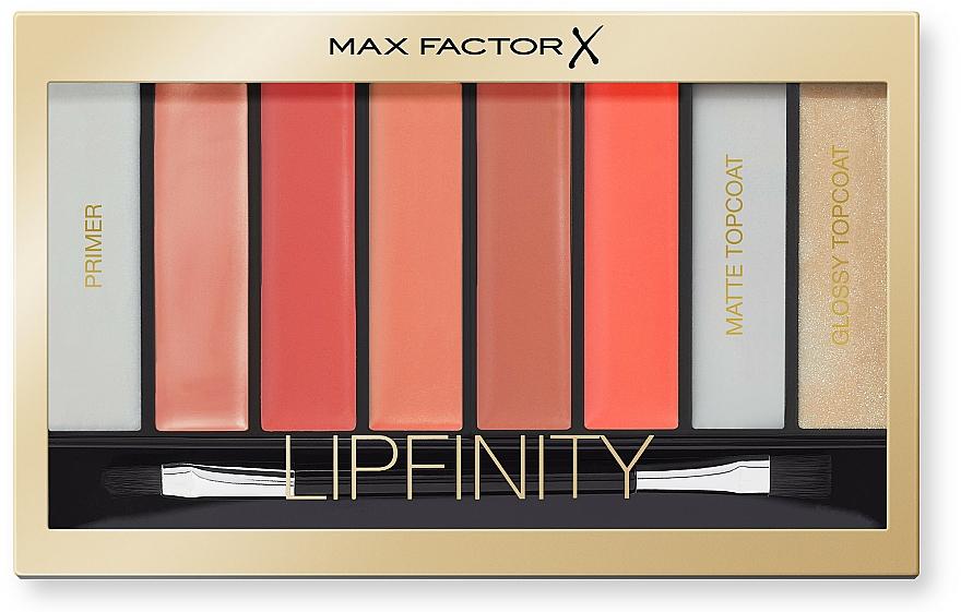Lipstick Palette - Max Factor Lipfinity Palette