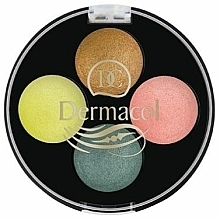Fragrances, Perfumes, Cosmetics Eyeshadow - Dermacol Quattro Baked Eye Shadow