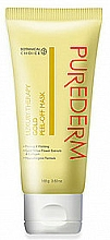 Fragrances, Perfumes, Cosmetics Gold Facial Peel-Off Mask - Purederm Luxury Therapy Gold Peel-Off Mask