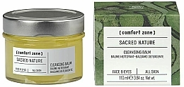 Fragrances, Perfumes, Cosmetics Cleansing Face Balm - Comfort Zone Sacred Nature Cleansing Balm