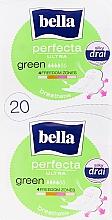 Fragrances, Perfumes, Cosmetics Sanitary Pads Perfecta Green Drai Ultra, 2x10 pcs - Bella