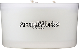 """Fragrances, Perfumes, Cosmetics Scented Candle """"Serenity"""", 3-wick - AromaWorks Serenity Candle 3-wick"""