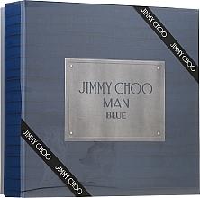 Fragrances, Perfumes, Cosmetics Jimmy Choo Man Blue - Set (edt/100ml + ash/balm/100ml + edt/7.5ml)