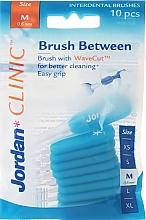 Fragrances, Perfumes, Cosmetics Interdental Brush, 0,6 mm cone, 10 pcs - Jordan Interdental Brush