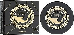 Fragrances, Perfumes, Cosmetics Hydrogel Black Caviar Eye Patches - Esfolio Black Caviar Hydrogel Eye Patch