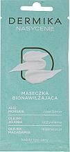Fragrances, Perfumes, Cosmetics Moisturizing Mask for All Skin Types - Dermika Plenitude Bio-Moisturizing Mask