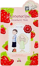Fragrances, Perfumes, Cosmetics Strawberry Face Sheet Mask - Sally's Box Loverecipe Strawberry Mask