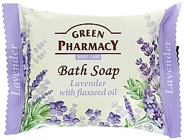 """Fragrances, Perfumes, Cosmetics Soap """"Lavender & Flaxseed Oil"""" - Green Pharmacy"""