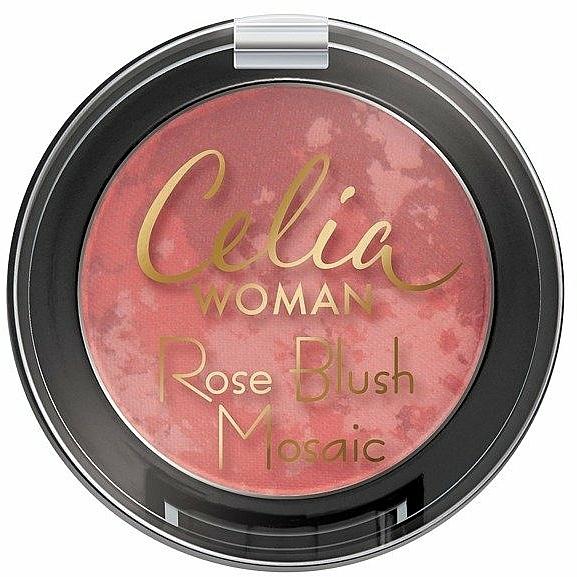 Face Blush - Celia Woman Rose Blush Mosaic