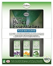 "Fragrances, Perfumes, Cosmetics Essential Oil Set ""To Help You Sleep"" - Galeo To Help You Sleep Gift Set (ess/oil/3x10ml)"