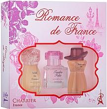 Fragrances, Perfumes, Cosmetics Charrier Parfums Romance De France - Set (edp/11.5ml+edp/10.1ml+edp/12ml)