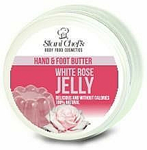 Fragrances, Perfumes, Cosmetics Hand and Foot Oil - Hristina Stani Chef's Hand And Foot Butter White Rose Jelly