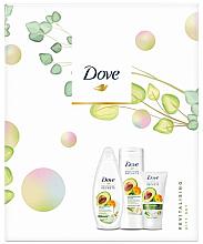 Fragrances, Perfumes, Cosmetics Set - Dove Revitalising Set (sh/gel/250ml + b/balm/250ml + h/cream/75ml)