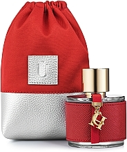 "Fragrances, Perfumes, Cosmetics Gift Perfumery Pouch ""Perfume Dress"", red - MakeUp"