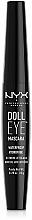 Fragrances, Perfumes, Cosmetics Waterproof Mascara - NYX Professional Makeup Doll Eye Mascara Waterproof