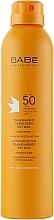 Fragrances, Perfumes, Cosmetics Waterproof Sun Spray SPF 50+ - Babe Laboratorios Fotoprotector Transparente Wet Skin