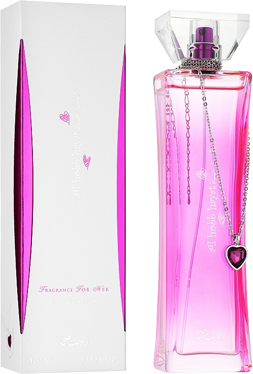 Rasasi Al Hobb Hayat - Perfumed Water — photo N1