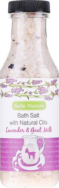 "Bath Salt ""Lavender and Goat's Milk"" - Belle Nature Bath Salt"